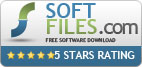 Your software has received 5 star award from Soft-Files editors team